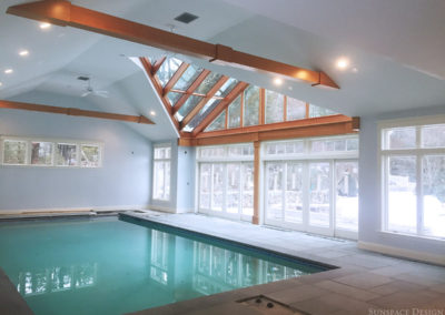 Pool Enclosure In Massachusetts built by Sunspace Design, Inc.