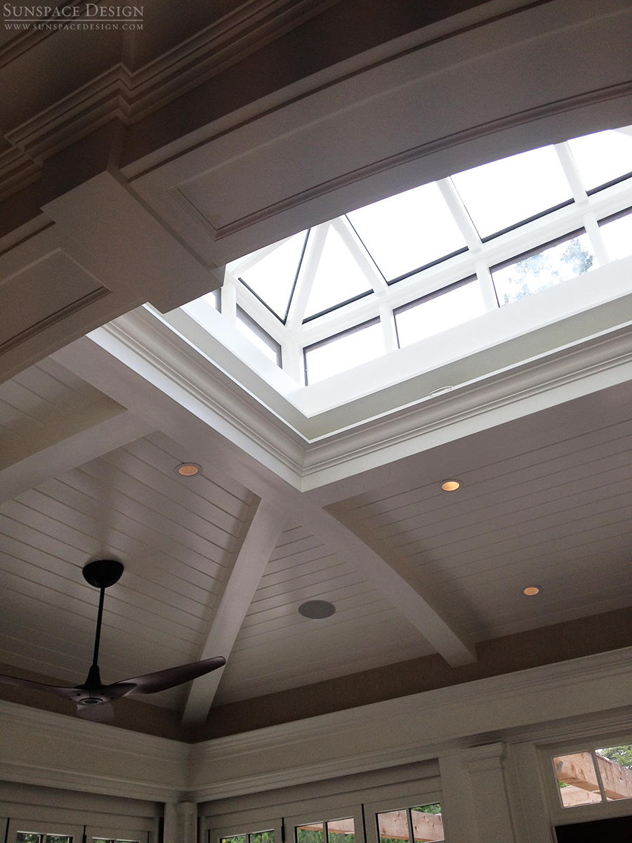In System Skylights : Custom skylights roof systems in new england sunspace