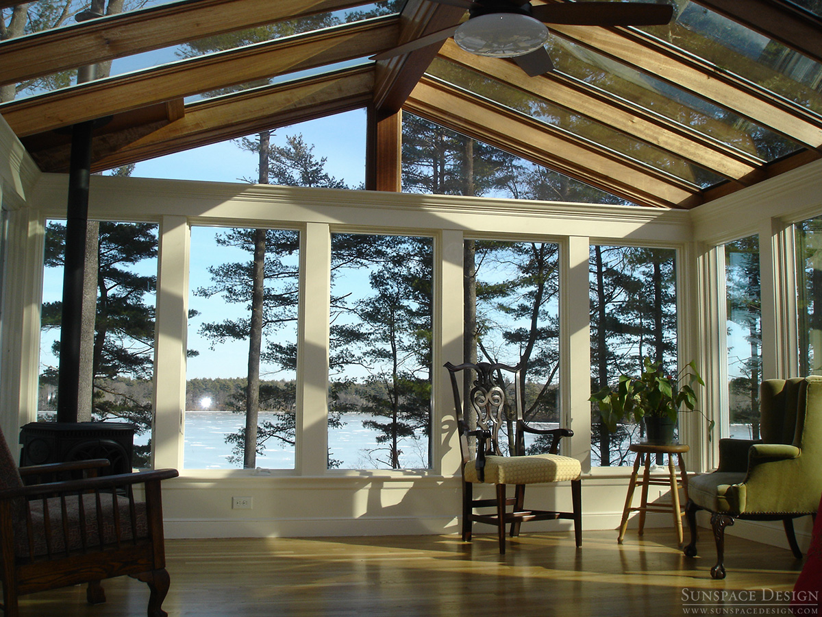 New England Sunroom By Sunspace Design, Inc.