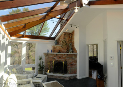 Conservatory Addition with Direct Access to Home Interior