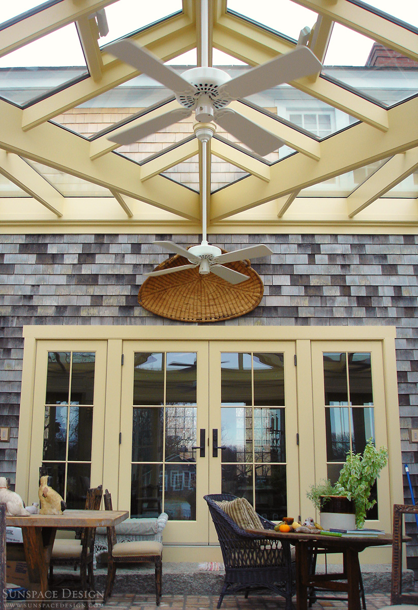 Conservatory Amp Dormer Glass Roof Martha S Vineyard Ma