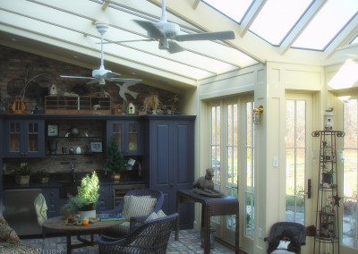 Inside view of a conservatory in Martha's Vineyard, Massachusetts 2
