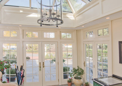 Indoor view of a Colonial Orangery in Shrewsbury, Massachusetts 3