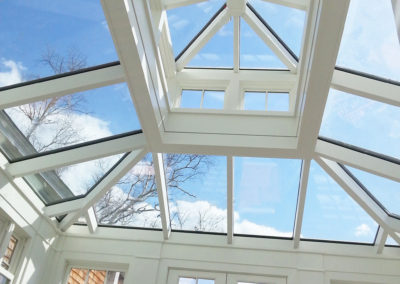 Inside view of a skylight in Salem, Massachusetts 2