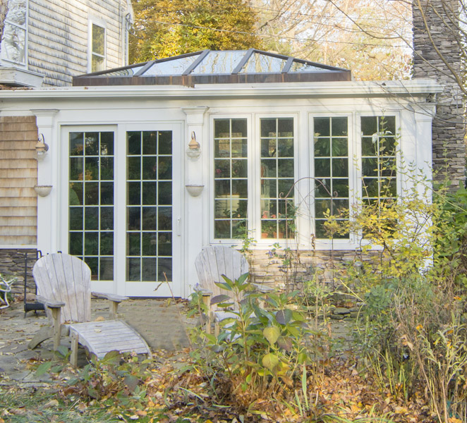 Family Room Additions: Family Room Addition & Double-Hip Skylight