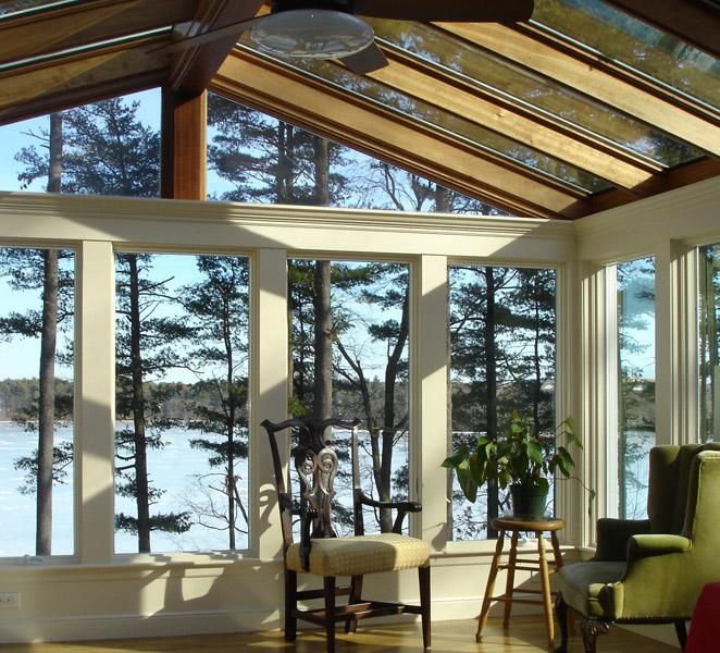 Gable-Style Sunroom