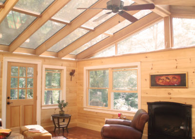 Inside view of a sunroom in Gloucester, Massachusetts 3
