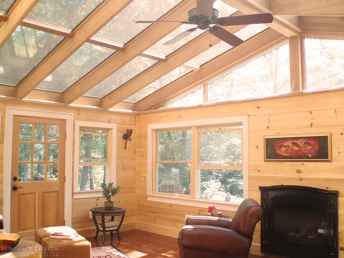 Glass Sunroom Roof