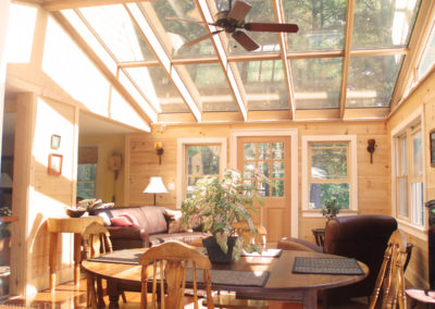 Inside view of a sunroom in Gloucester, Massachusetts 4