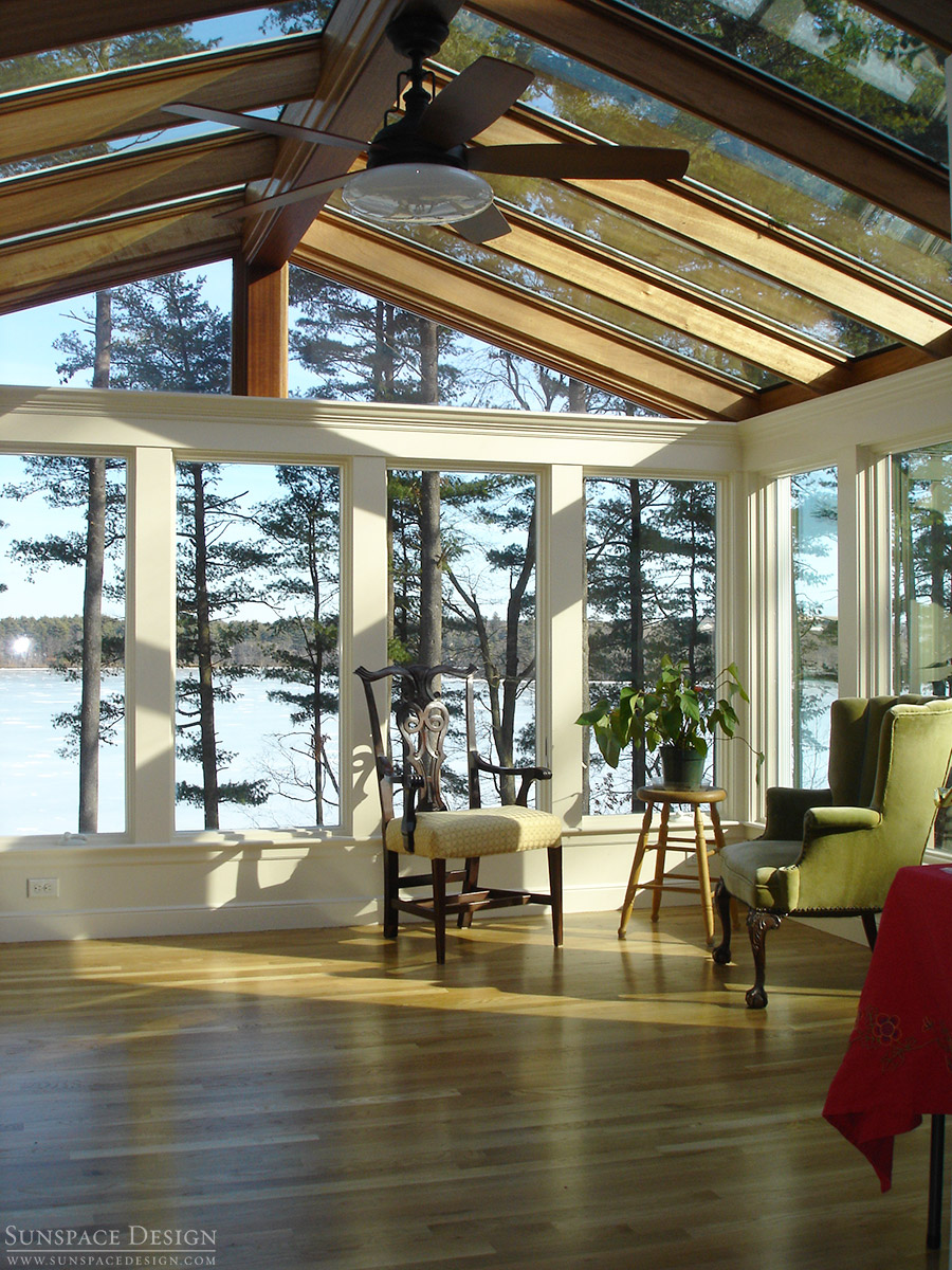 Sunroom Gable Glass Roof Amp Panoramic Windows Stoneham Ma