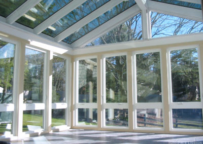 Tall Window Walls in Custom Sunroom Addition