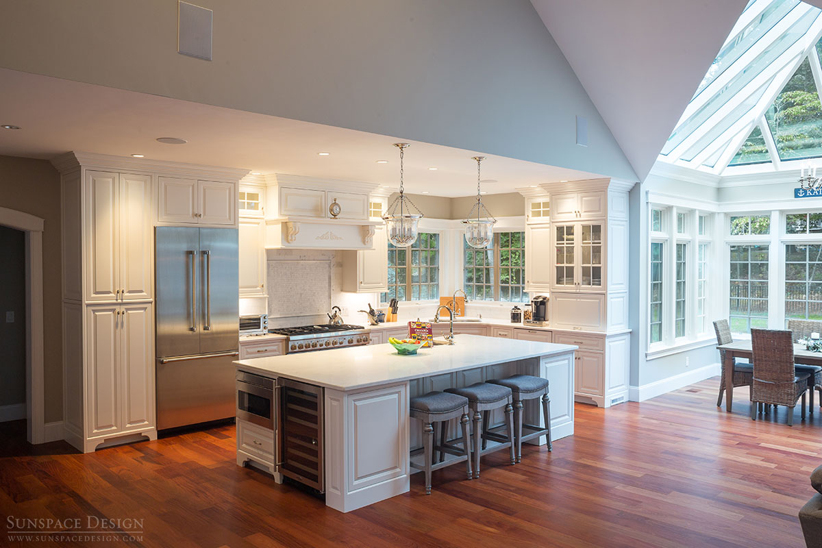 Kitchen Conservatory Conservatory In Rye New Hampshire Sunspace Design Inc