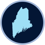 Maine Service Area Icon