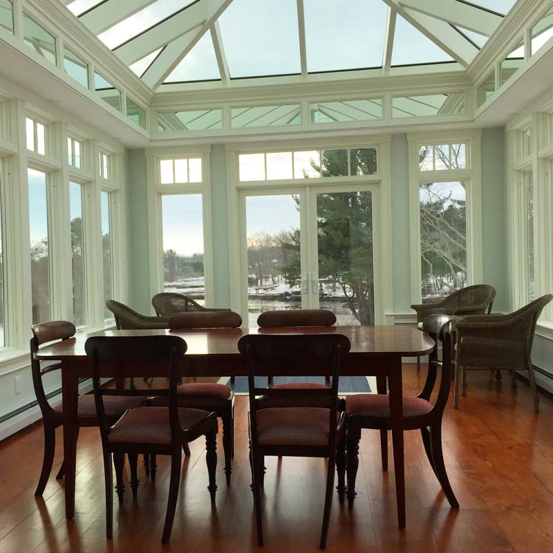 York, ME Custom Glass Conservatory
