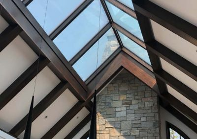 York Rooftop Ridge Skylight